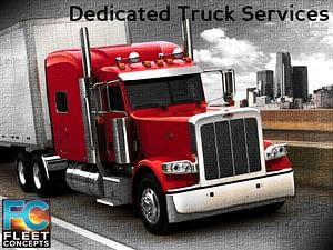 Dedicated Truck Services Fleet Concepts