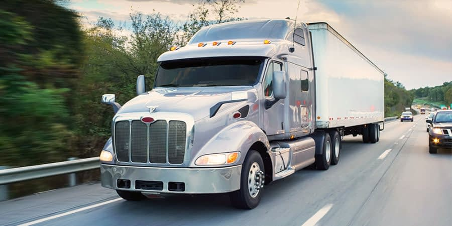 Dry Van Freight Shipping Logistics Truckload