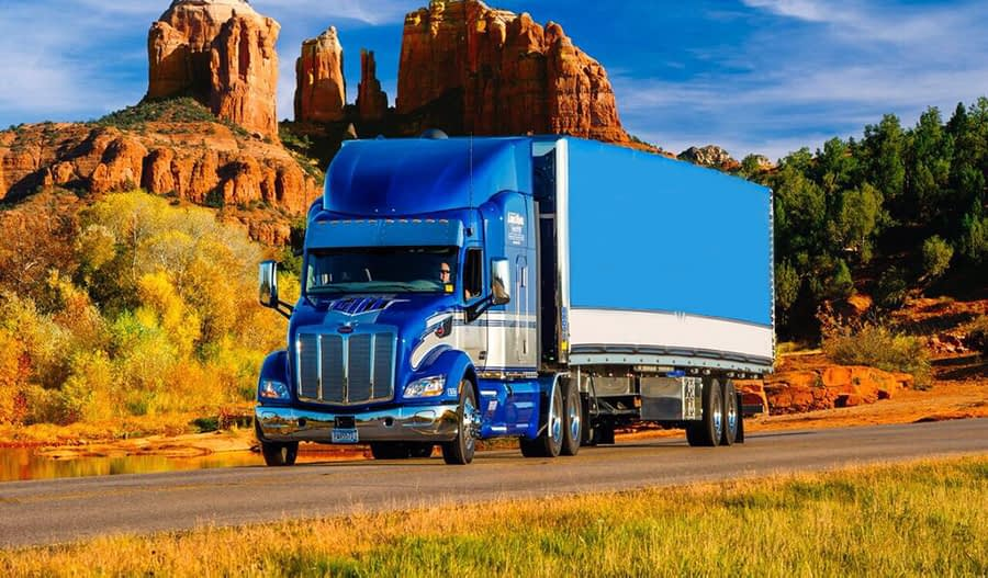 Long Haul Trucking Otr Truck Driving