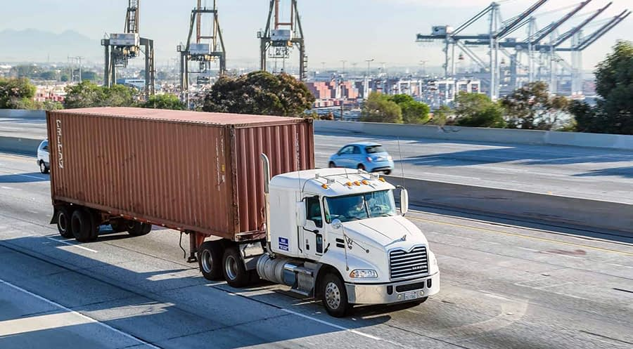 Drayage Freight Shipping Services