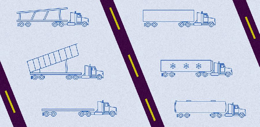 Different Kinds Of Truck Freight