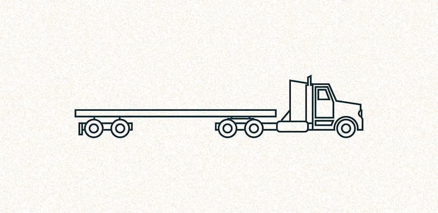 Flatbed Truck Shipping