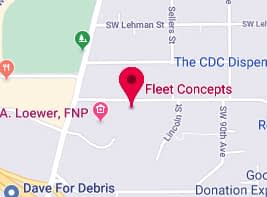 Fleet Concepts Trucking Transportation Brokerage Map