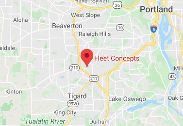 Fleet Concepts Trucking Transportation Brokerage Map
