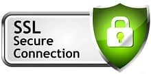 Your Data is protected by SSL Secure Connection