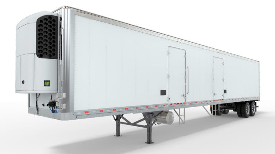 Refrigerated Freight Shipping Trailer